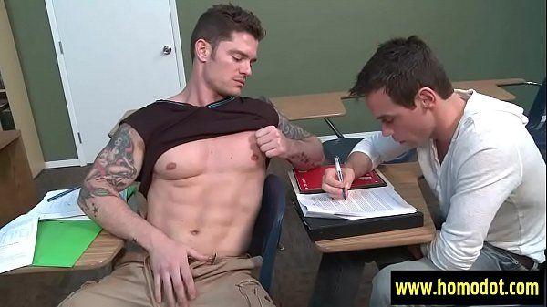 Gay porn vídeos sarado metendo no escritório